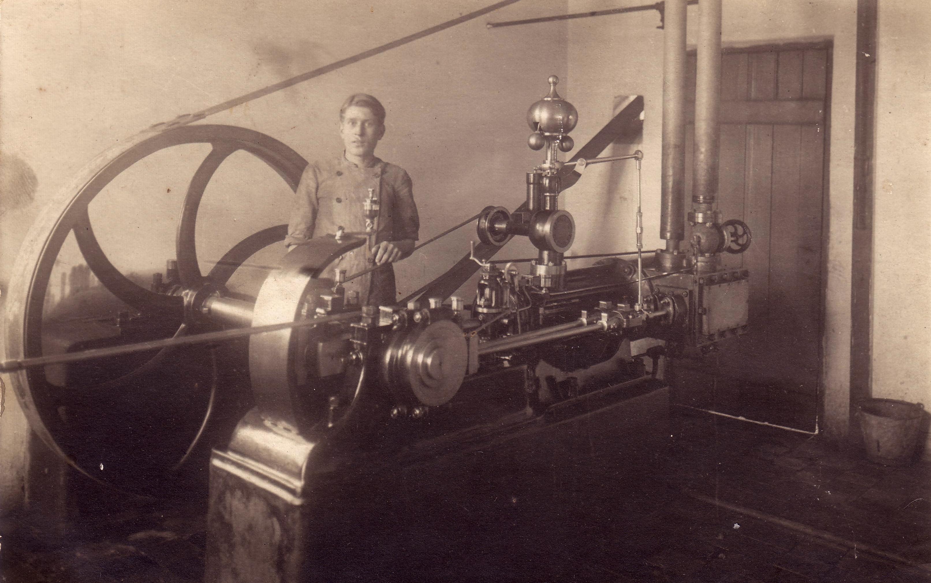 Andelsmejeriets dampmaskine.