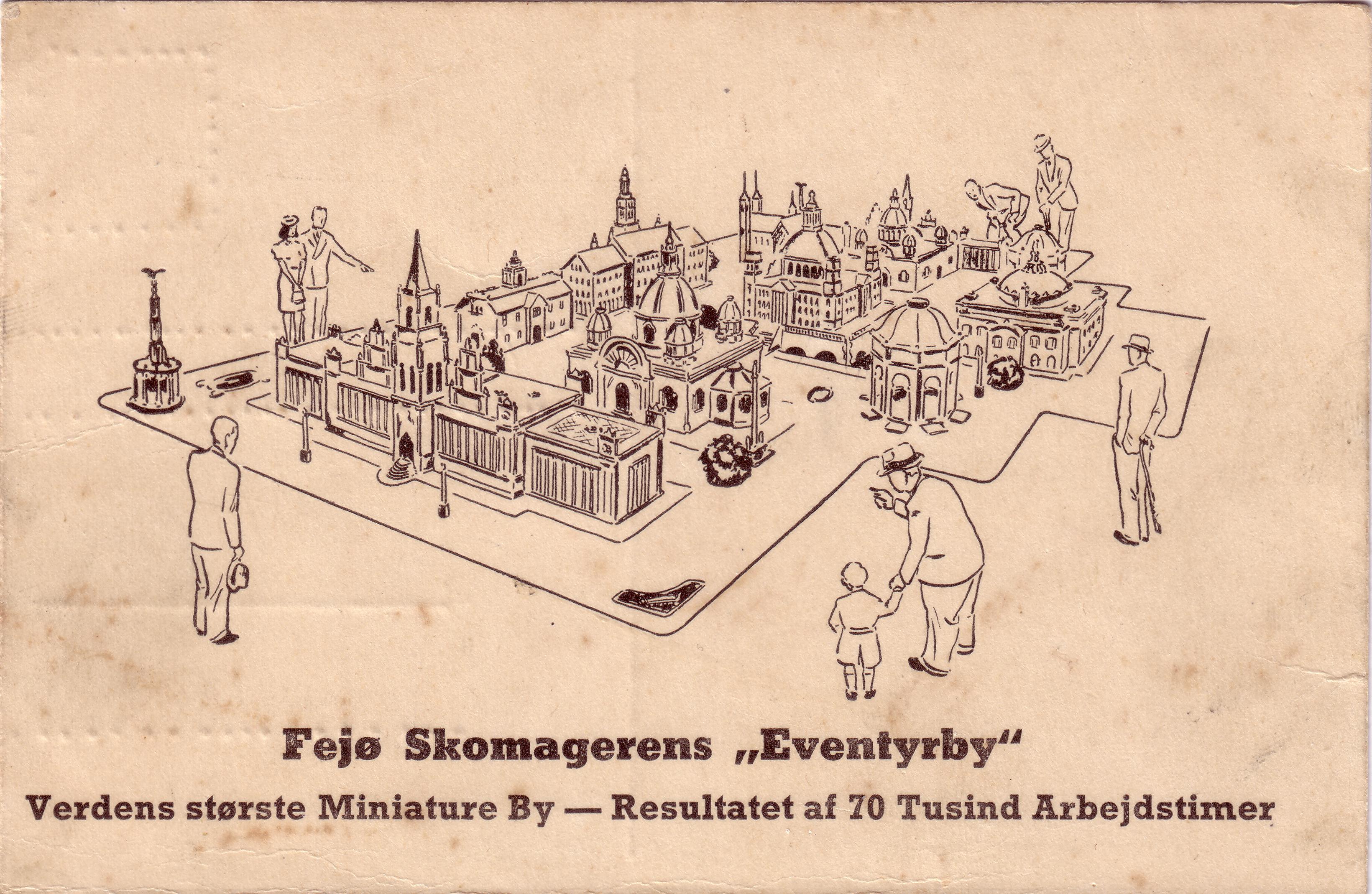 Fejøskomagerens eventyrby - ca. 1940