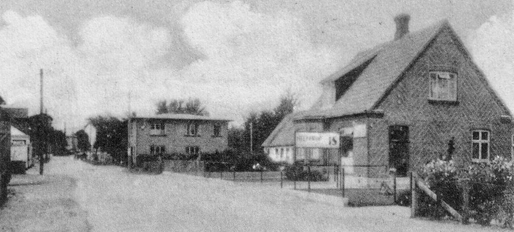 Johannes Christensens lille bageri og isbar på Herredsvej 295