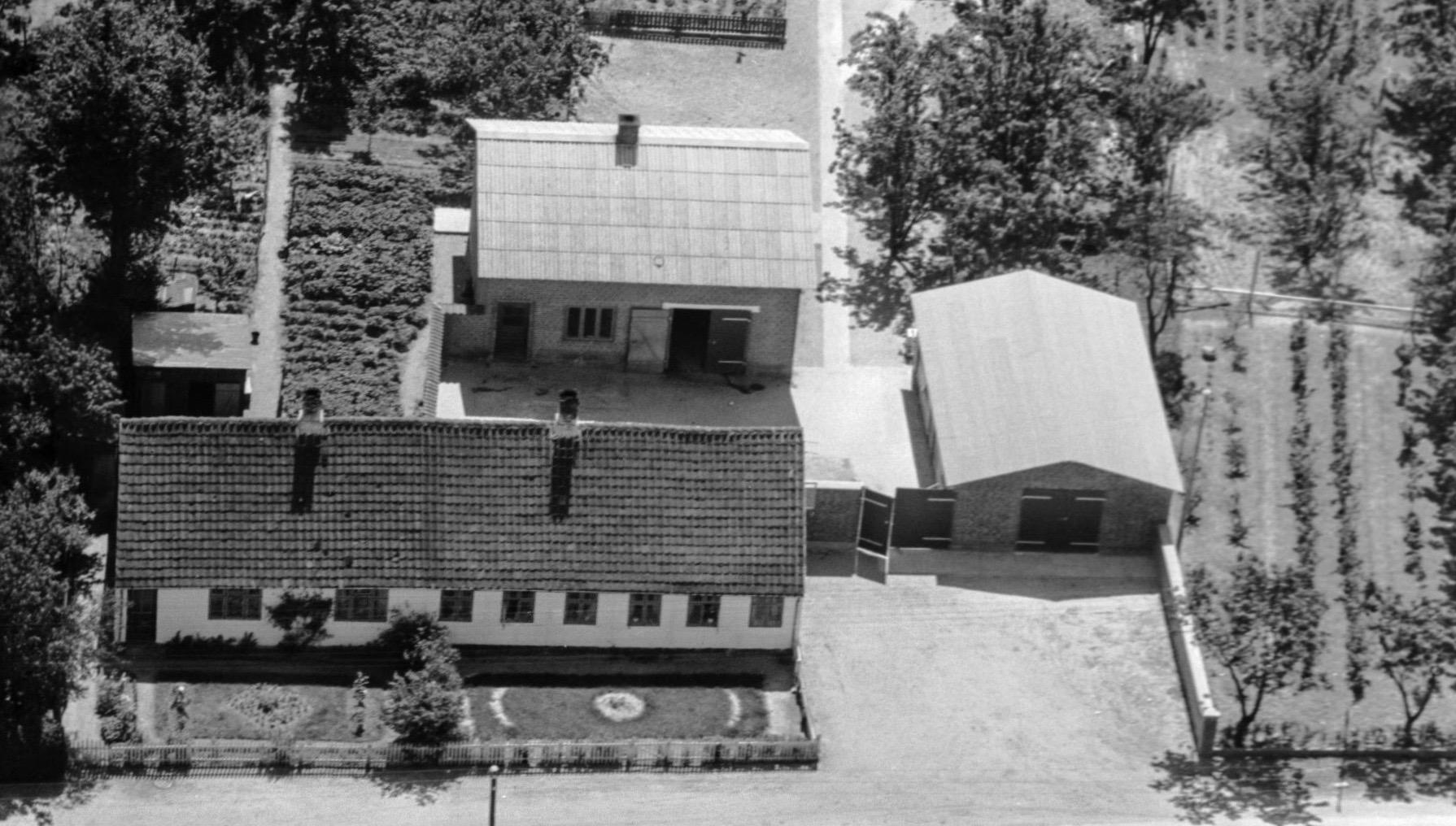 Æblekagefabrikken på Herredsvej 86 i 1949 (Kilde: kb.dk)