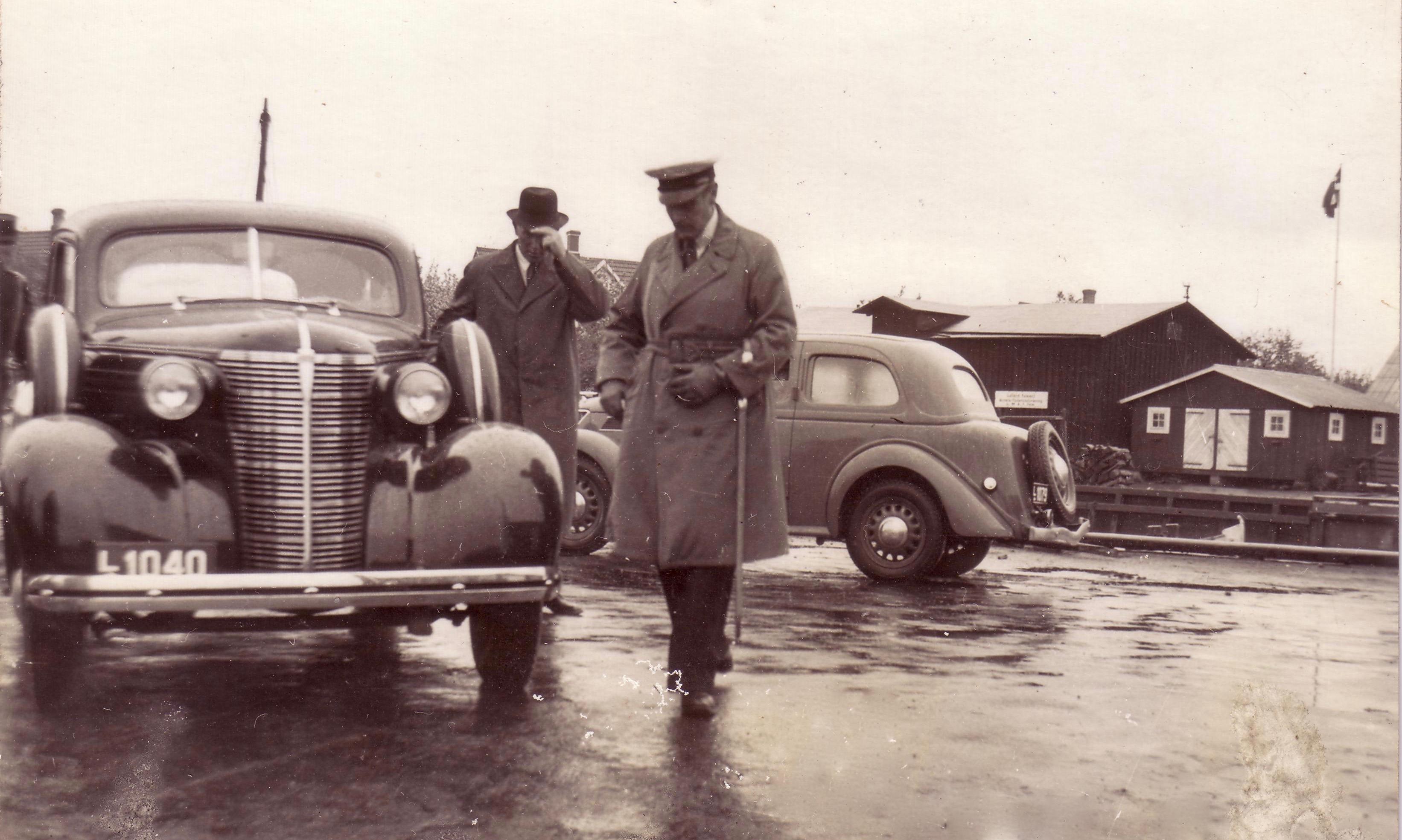 Kongebesøg på Fejø i 1939