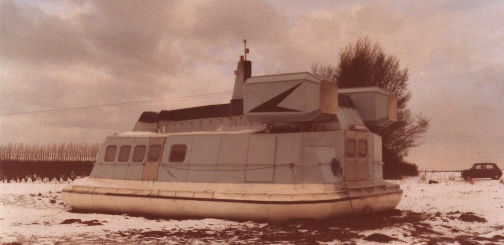 Luftpudebåden i 1978