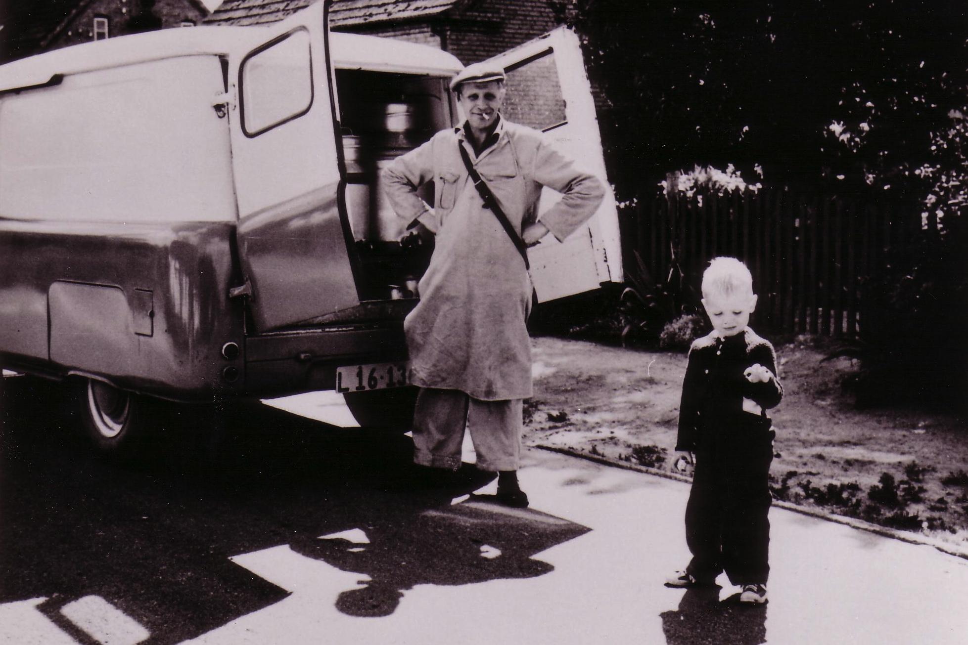 Mælkemand Børge (bixer) Hansen