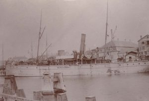 Dampskibsbesejlingen omkring Fejø
