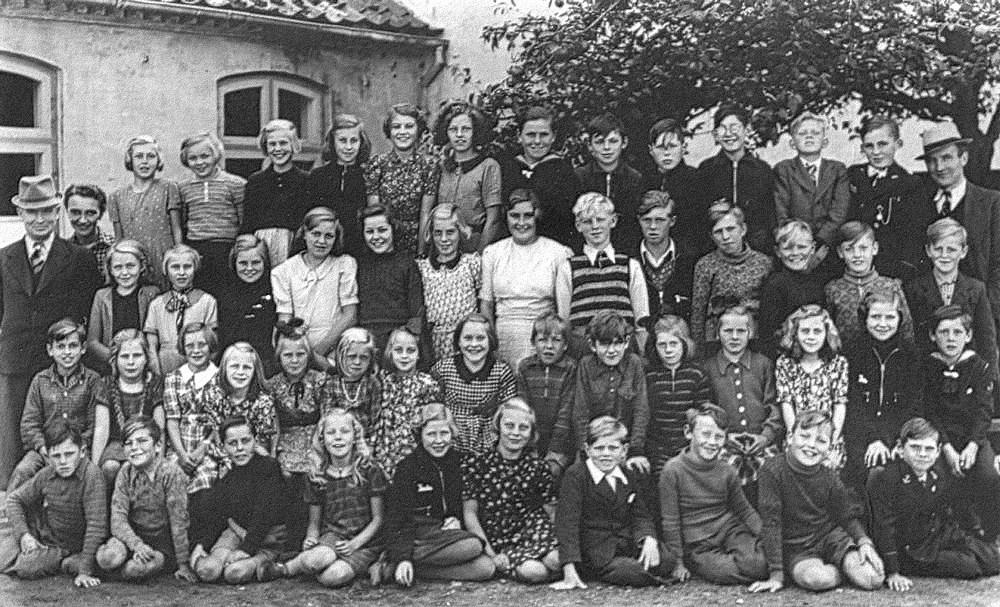Skolebillede 1940