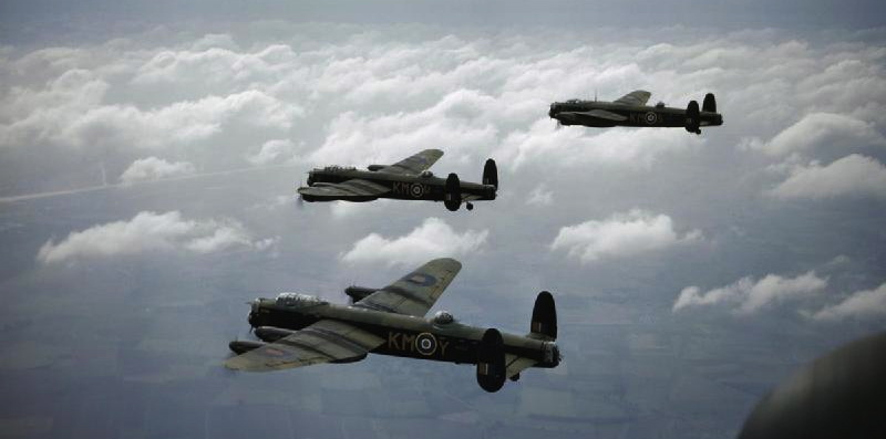 Lancaster styrt ved Vejrø