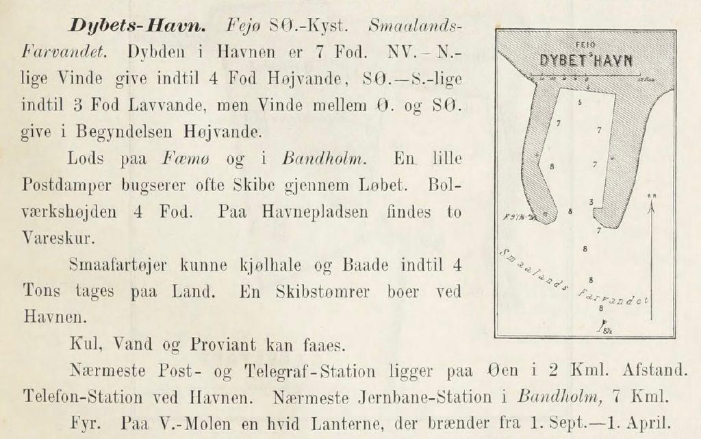 Kilde: Den Danske Havnelods 1895