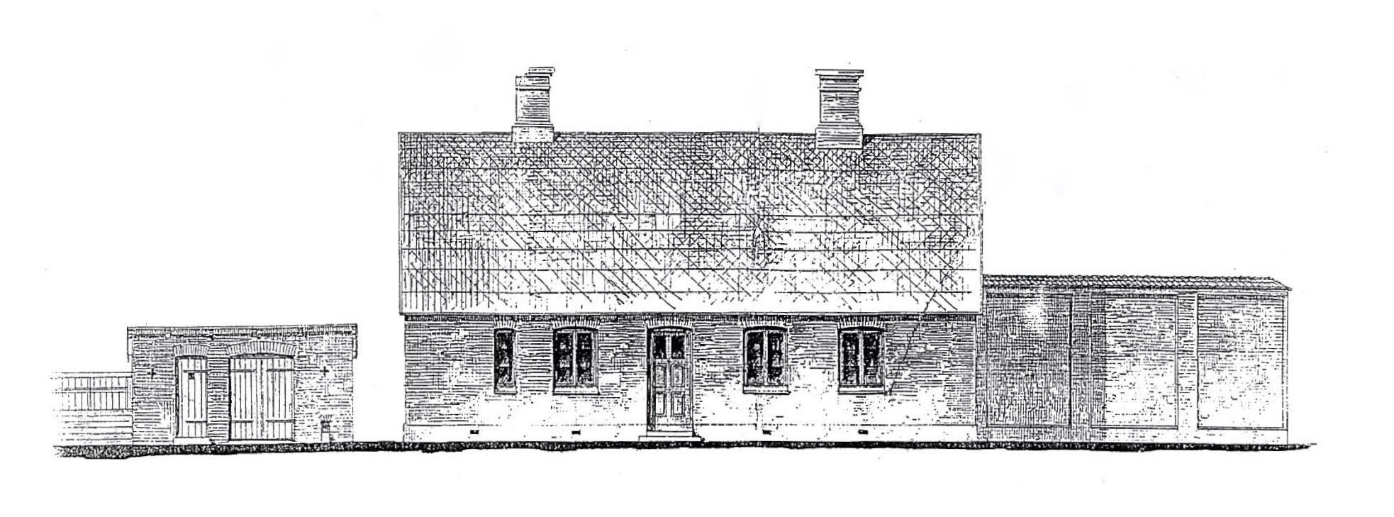 Posthuset og fængsler der aldrig blev opført