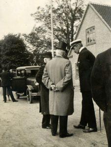 Kongebesøg på Fejø i 1933