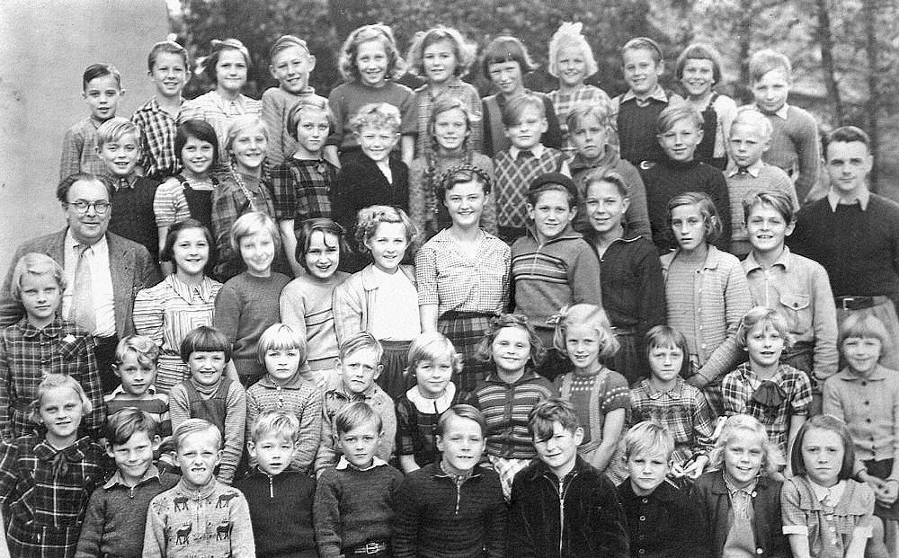 Skolebillede 1950