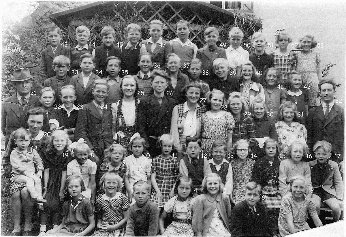 Skolebillede 1935